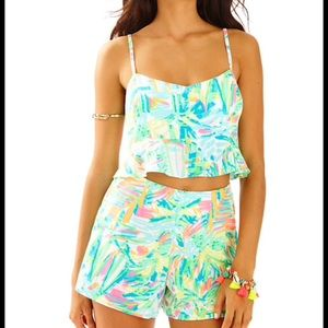 Lilly Pulitzer🏝Linnea two piece outfit size 0